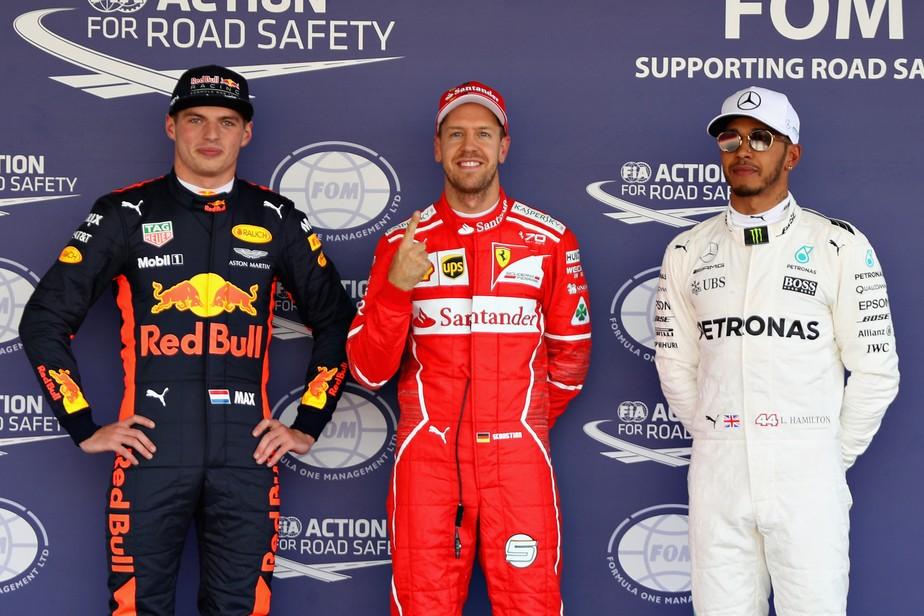 Vettel, Hamilton e Max projetam luta dura para início da temporada 2018 de F1