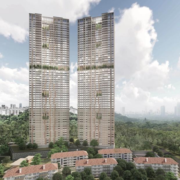 Projeto de 56 andares em Singapura será o edifício pré-fabricado mais alto do mundo