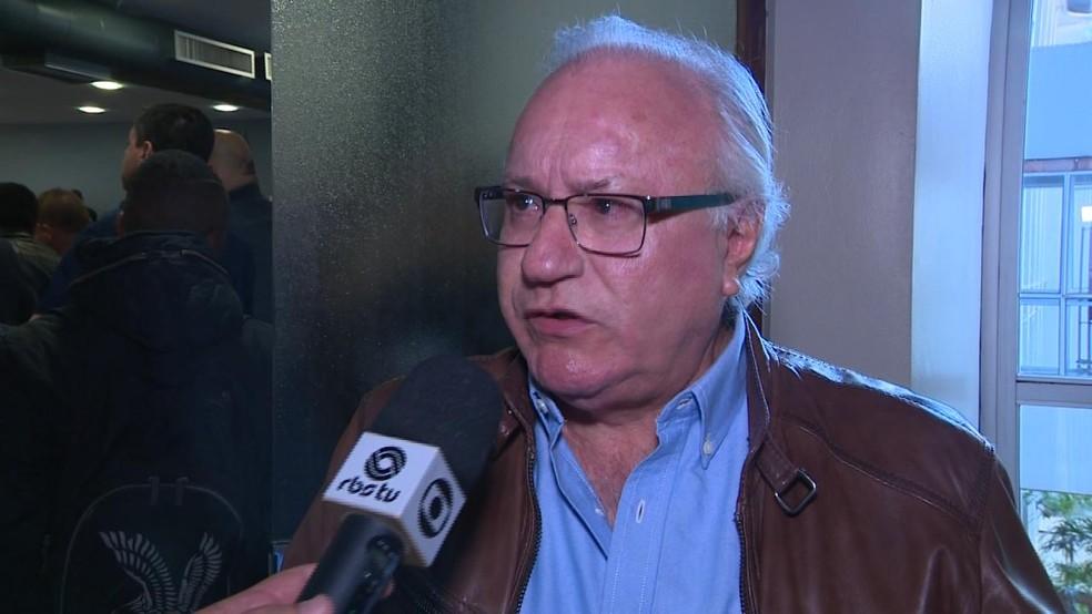 Mário Bernd é candidato ao Senado pelo PPS (Foto: Reprodução/RBS TV)