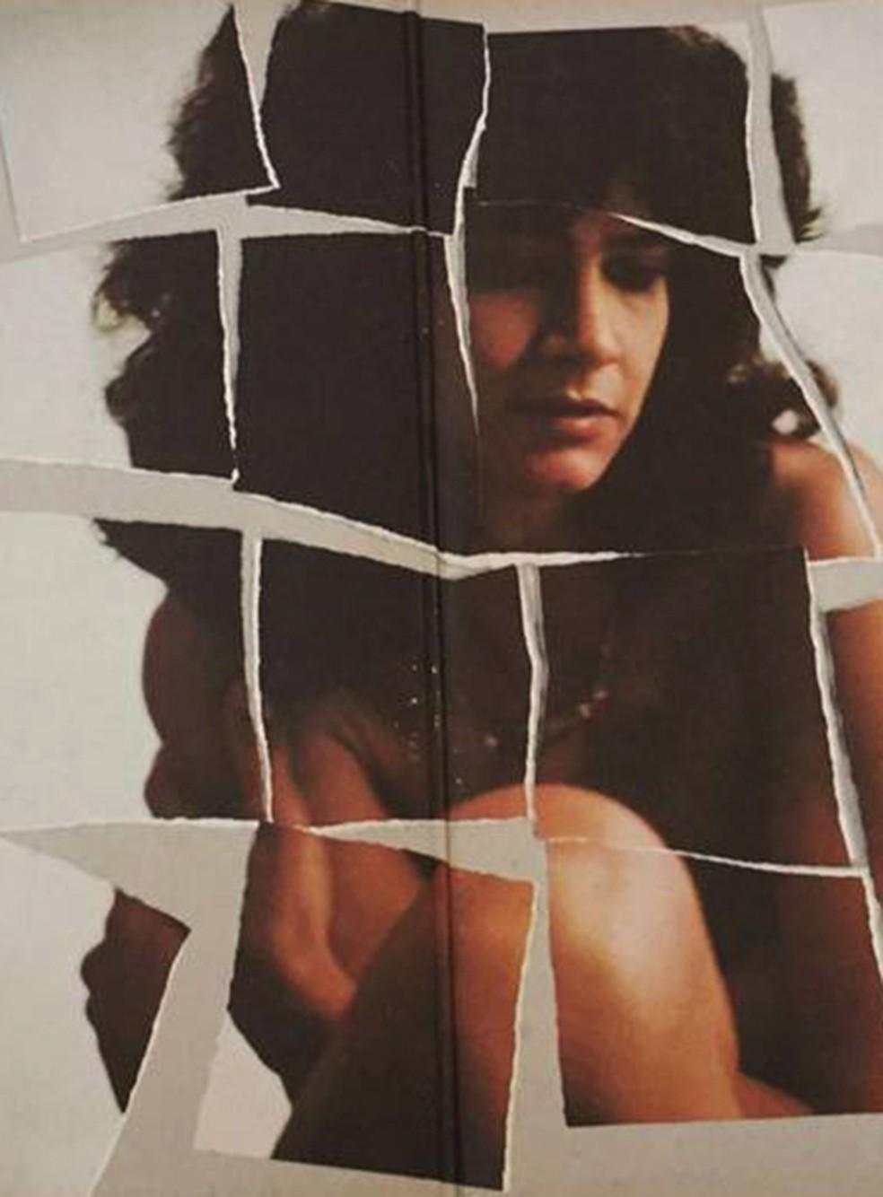 Arte do encarte do álbum 'Pedaços', de Simone — Foto: Fernando Carvalho / Reprodução de encarte de disco