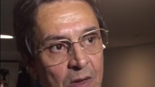 Roberto Jefferson visita Câmara e defende impeachment de Dilma