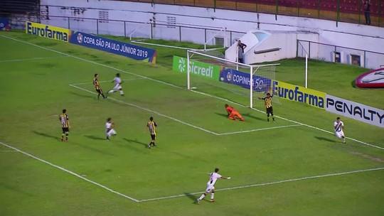 Prêmio Dener: gol de Tiago Reis, do Vasco, é eleito o mais bonito das quartas de final da Copinha