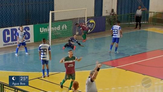 Copa Centro América de Futsal tem rodada no interior e na capital