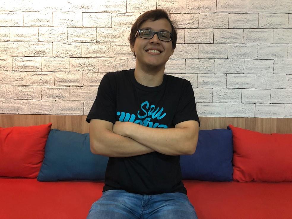 Gabriel fez cursinho no colégio Motiva e foi aprovado em primeiro lugar no curso de medicina da USP — Foto: Ascom/Motiva/Divulgação