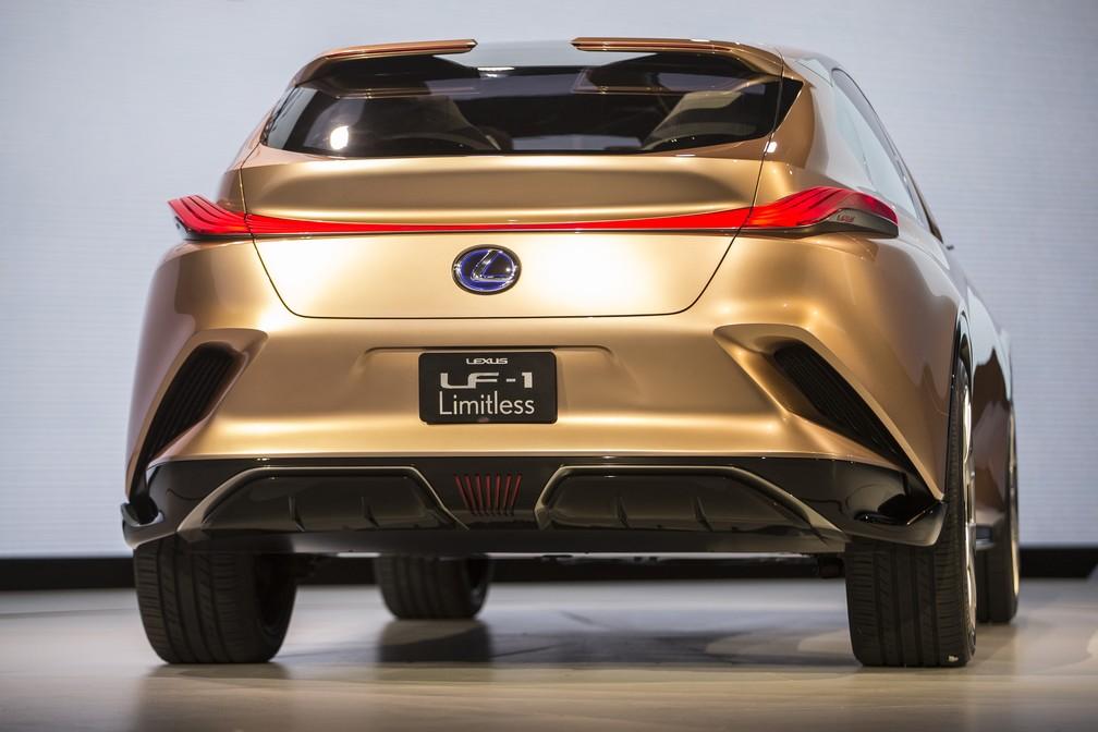Lexus FL-1 Limitless Concept (Foto: Geoff Robins/AFP)