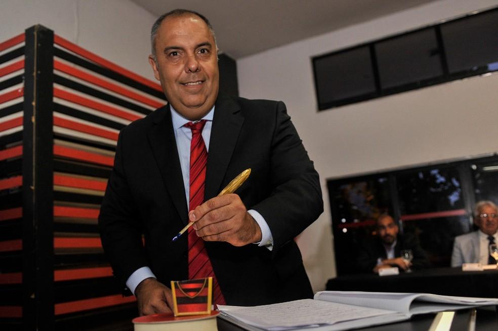 Marcos Braz é oficialmente vice de futebol do clube novamente — Foto: FotoBR
