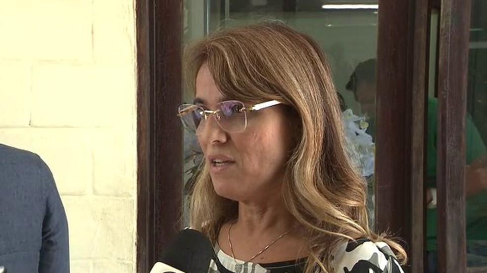 Livânia Farias, ex-secretária de administração do Estado, fez delação premiada na Operação Calvário — Foto: Reprodução/TV Cabo Branco/Arquivo