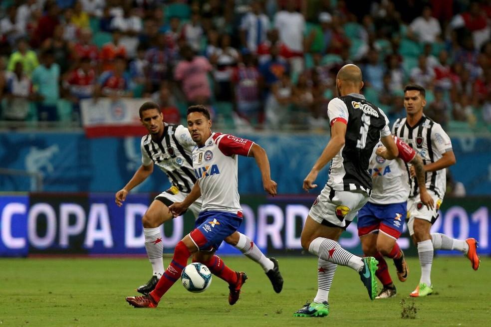 Bahia e Botafogo-PB estão perto da classificaçã (Foto: Felipe Oliveira / Divulgação / EC Bahia)