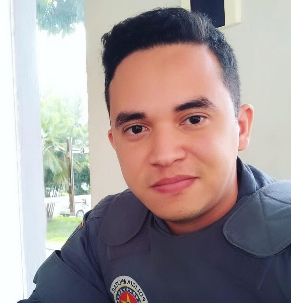 Adonias Sadda, soldado da Polícia Militar, é o principal suspeito de ter efetuado o disparo contra o médico. — Foto: Divulgação/Arquivo pessoal
