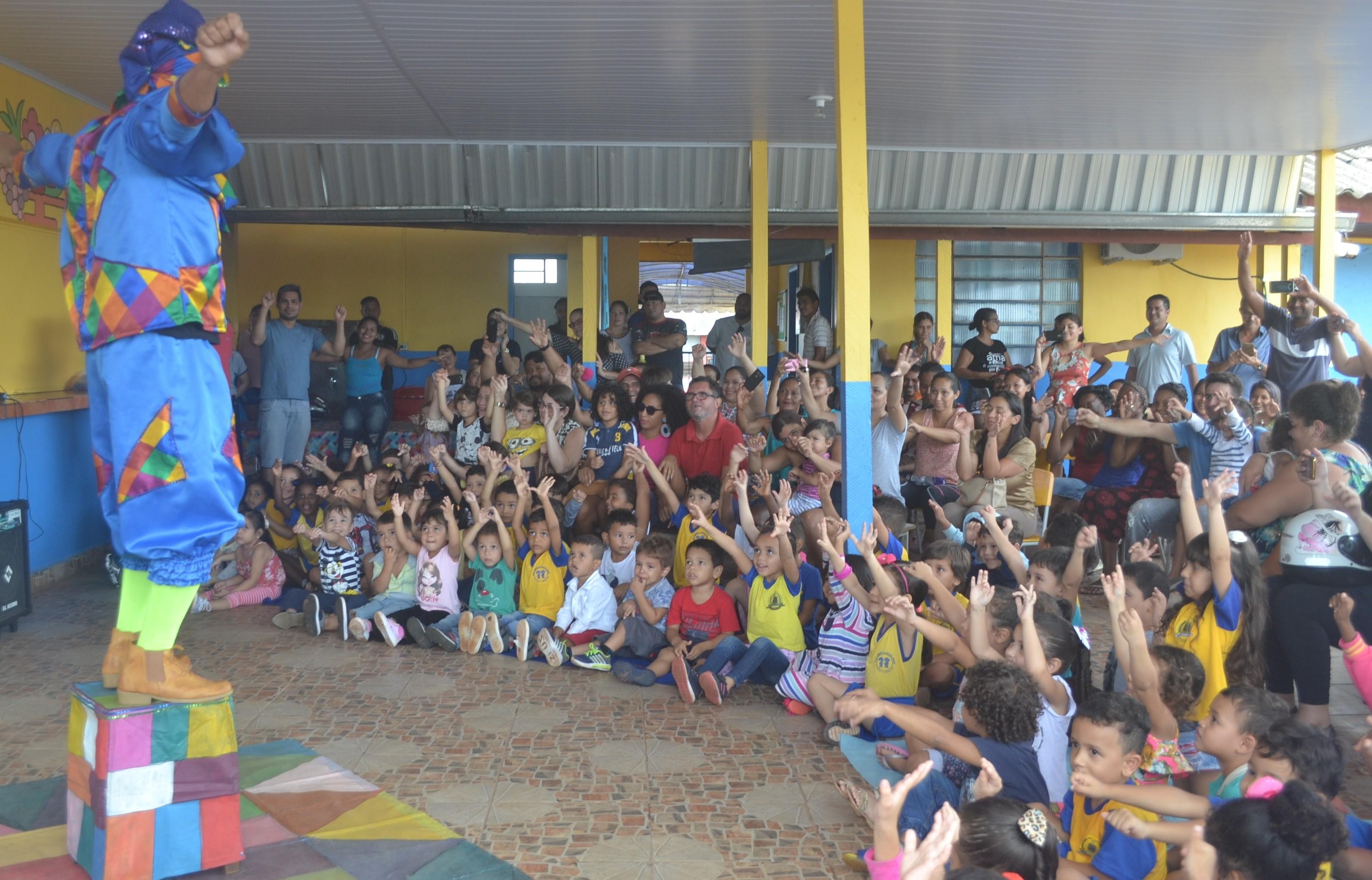 Projeto 'O Teatro Vai à Escola' abre temporada de apresentações em Porto Velho - Noticias