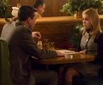 Don Draper (Jon Hamm) e Sally Draper (Kiernan Shipka) em 'Mad men' | Reprodução