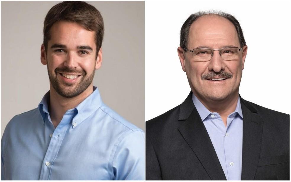 Eduardo Leite e José Ivo Sartori estão no segundo turno — Foto: Divulgação