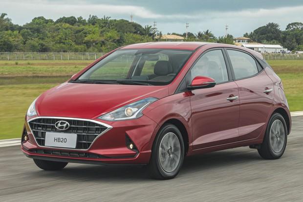 Hyundai HB20 1.6 manual é o mais esperto da gama (Foto: Divulgação)