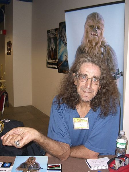Peter Mayhew, sem fantasia (Foto: Wikimedia Commons)