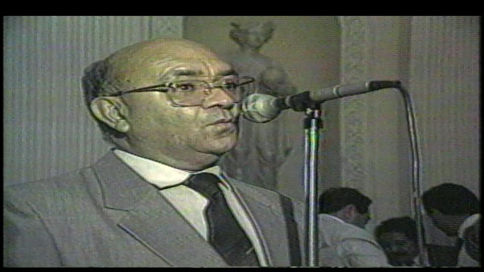 Severino Cavalcanti, ex-presidente da Câmara dos Deputados, era natural de João Alfredo, em Pernambuco — Foto: Reprodução/TV Globo