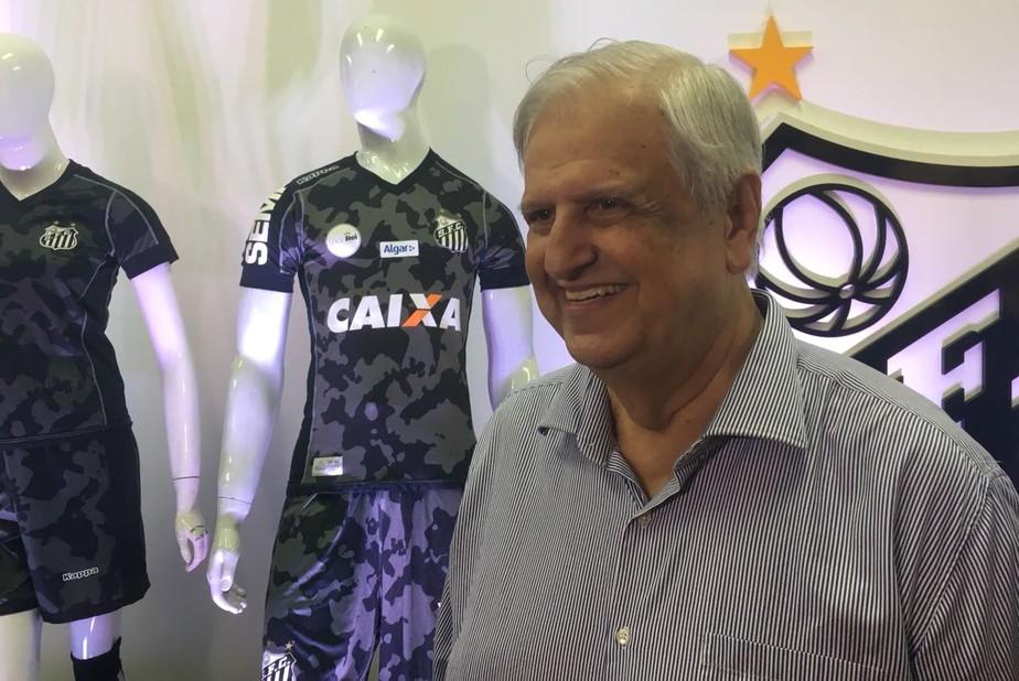 d1c6bdb341b ... Santos lança novo terceiro uniforme  veja fotos