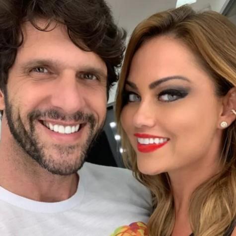 Ellen Rocche e Guilherme Chelucci (Foto: Reprodução)