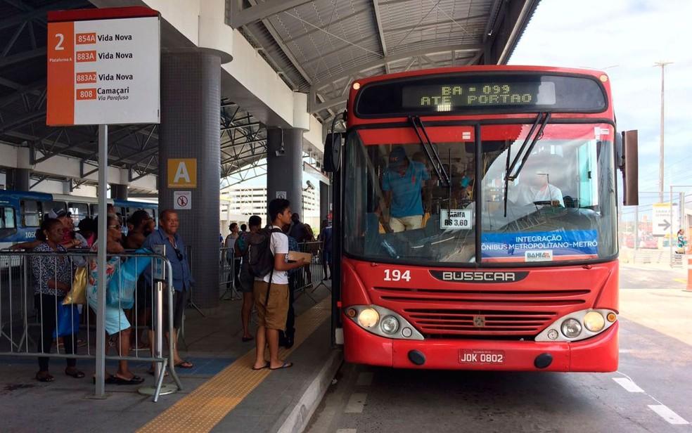 Festival Virada Salvador terá esquema especial de transporte com cerca 700 ônibus extras, anunciou a prefeitura (Foto: Ramon Ferraz/TV Bahia)