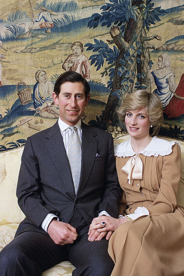LONDON, UNITED KINGDOM - FEBRUARY 01:  The Prince And Princess Of Wales At Home In Kensington Palace  (Photo by Tim Graham Photo Library via Getty Images) (Foto: Tim Graham Photo Library via Get)