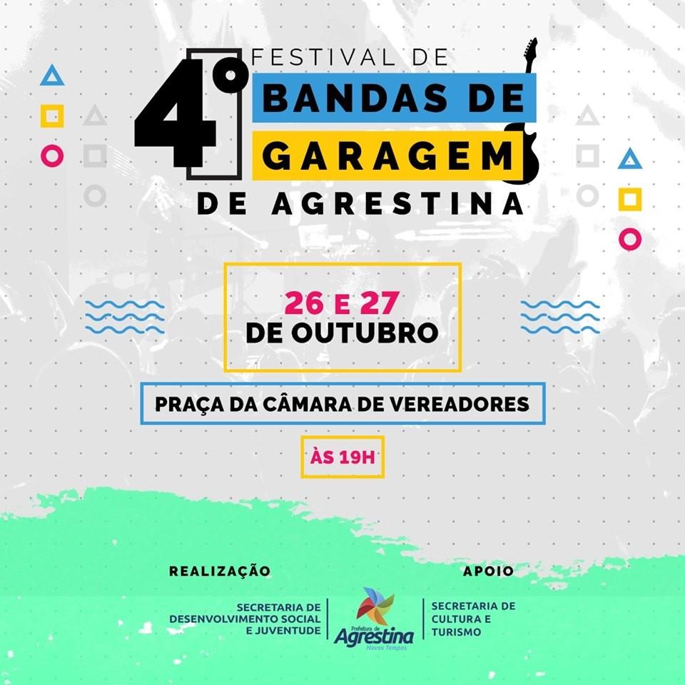4º Festival de Bandas de Garagem é realizado em Agrestina - Notícias - Plantão Diário