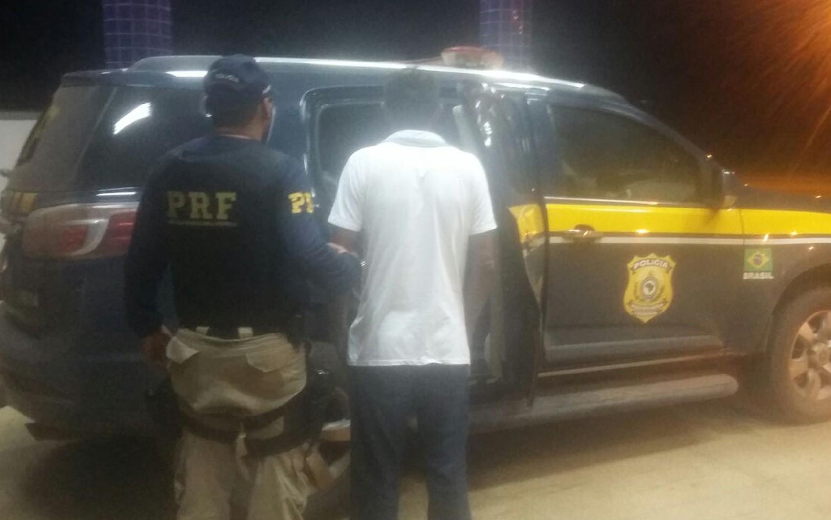PRF prende no MA condutor com mandado de prisão em aberto