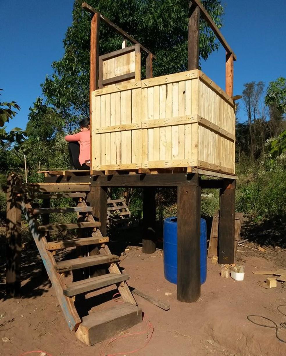 Alunos da USP de São Carlos criam projetos de saneamento básico para famílias de zonas rurais  (Foto: Arquivo Pessoal)