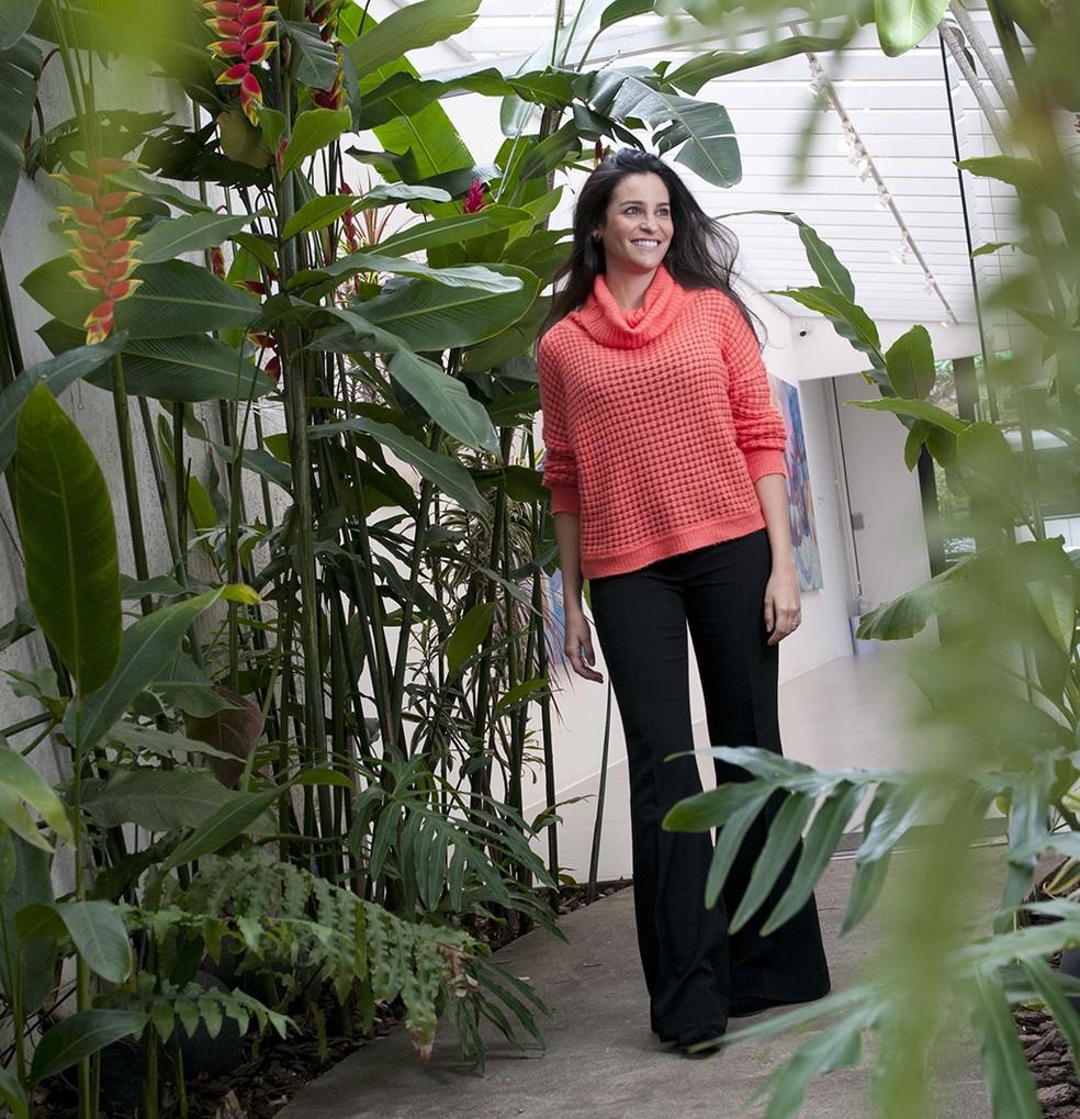 Marina Feffer é psicóloga e integrante da família que controla a maior fabricante de papel e celulose do Brasil e uma das maiores do mundo, a Suzano — Foto: Silvia Costanti/Valor