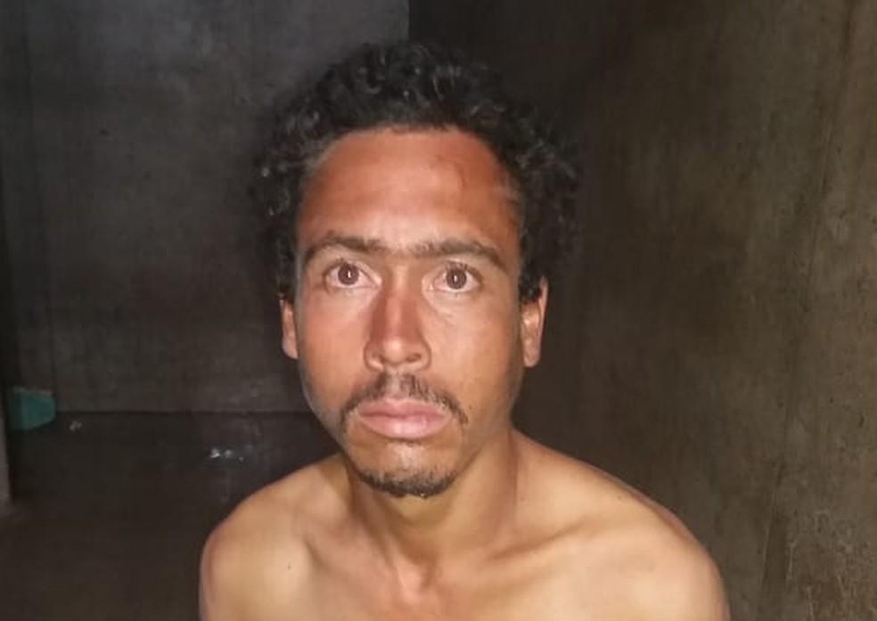 Homem suspeito de ter ateado fogo em companheira — Foto: PMDF/Divulgação