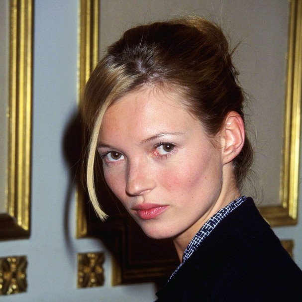 Kate Moss nos anos 1990 (Foto: Getty Images)