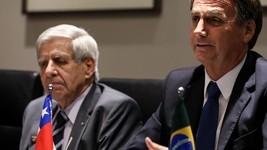 Bolsonaro hoje discute o novo Prosul no Chile (Marcos Corrêa/PR)