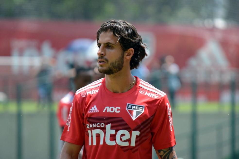 Hudson vai defender o Fluminense em 2020 — Foto: Divulgação/São Paulo