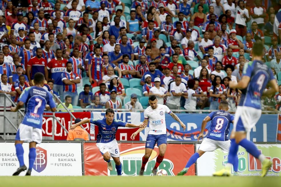 Campeonato Baiano será reiniciado no dia 23 deste mês — Foto:  Felipe Oliveira / EC Bahia
