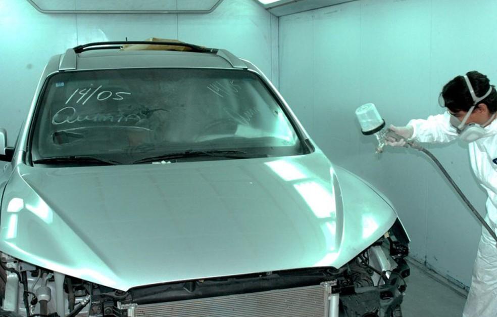 -  Serviços de reparação contribuem para a avaliação do carro na hora da venda  Foto: Divulgação