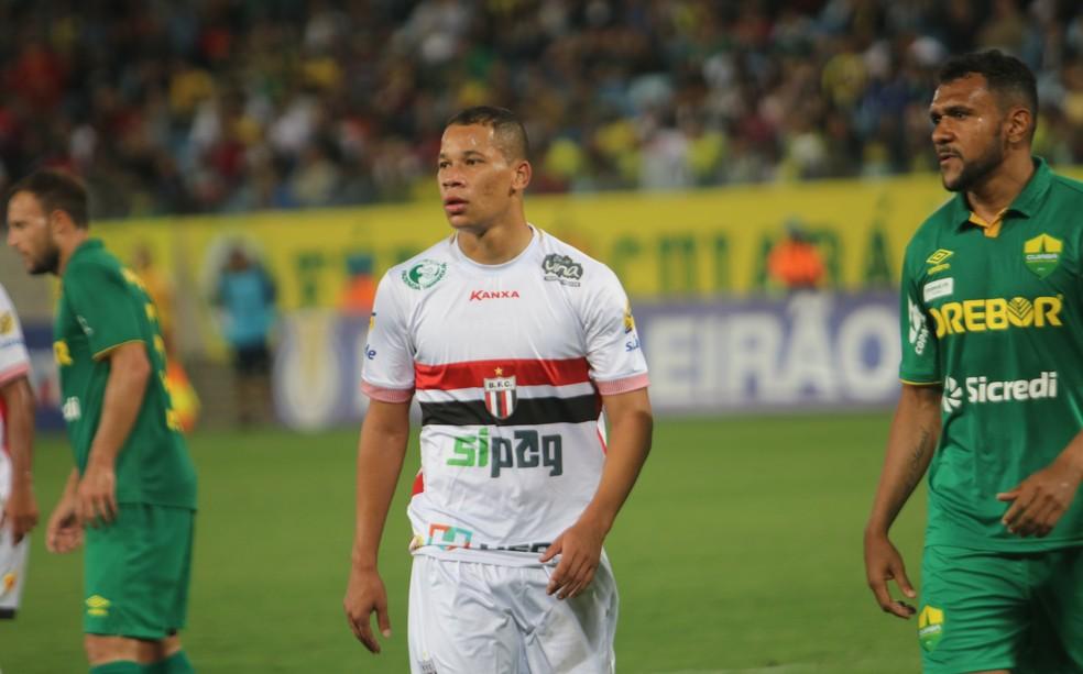 Caio Dantas, ex-atacante do Botafogo-SP — Foto: Raul Ramos/Ag. Botafogo/Divulgação