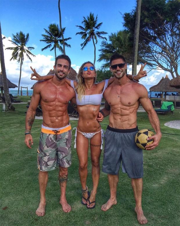 Erasmo Viana, Gabriela Pugliesi e Jonas Sulzbach (Foto: Reprodução / Instagram)