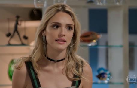 Na terça-feira (9), Manu (Isabelle Drummond) entrará na casa de João (Rafael Vitti) e dará de cara com Moana (Giovana Cordeiro) TV Globo