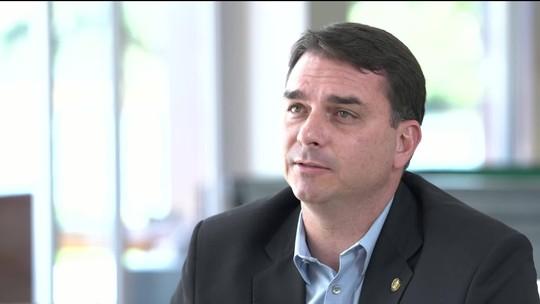 Flávio Bolsonaro: áreas do MP não podem ser dominadas por quem seja 'contra o que a gente pensa'