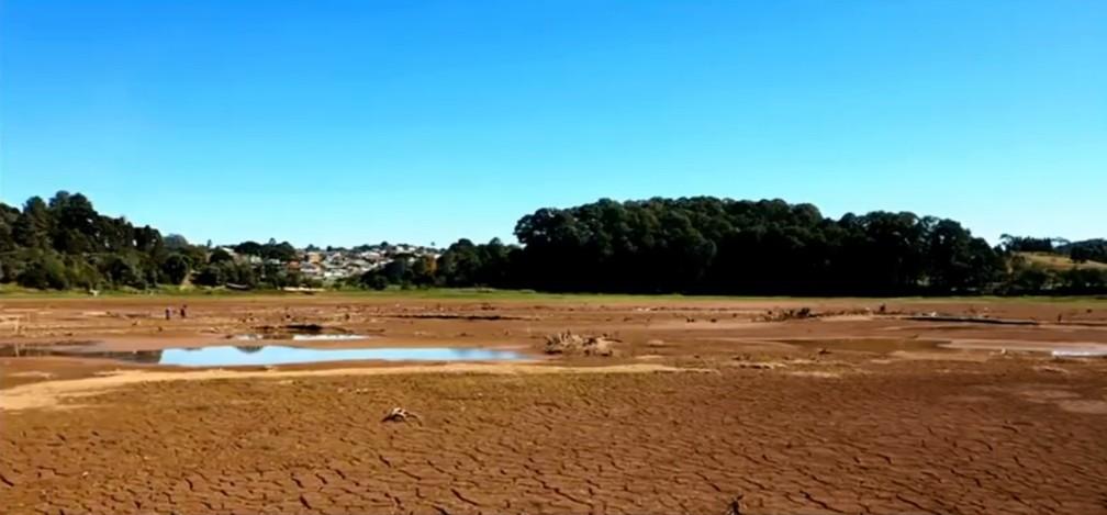 Sistema de rodízio de água em Curitiba e Região deve ser mantido até setembro, de acordo com a Sanepar — Foto: Leonardo Morrone/RPC