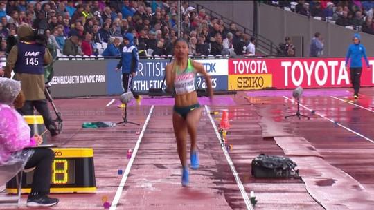 Eliane Martins vai à final do salto em distância; Geisa Arcanjo é nona no peso