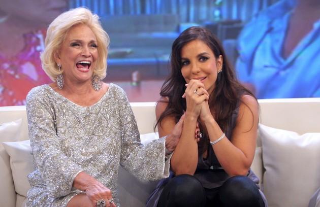 Hebe entrevista Ivete Sangalo: 'Ela era incrível, uma diva. Faz muita falta', diz Grazi (Foto: Lourival Ribeiro)