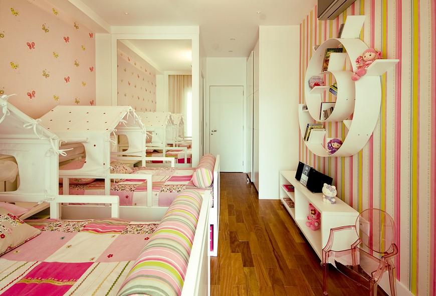 Ideias para decorar quartos de meninas Crescer Huggies Supreme Meninas -> Como Decorar Um Quarto Pequeno Para Duas Irmãs