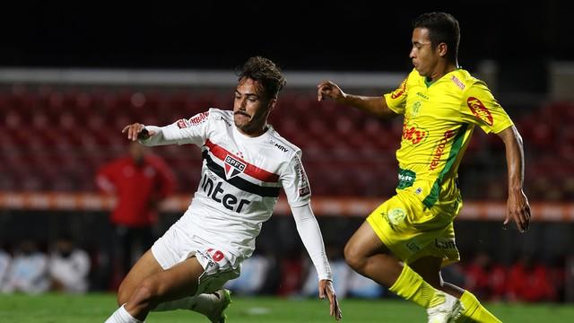 Igor Gomes criou pouco em São Paulo x Mirassol