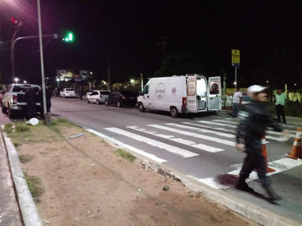 Blitz da Lei Seca foi realizada na madrugada desta sexta-feira (3), na Zona Sul (Foto: Divulgação/PM)