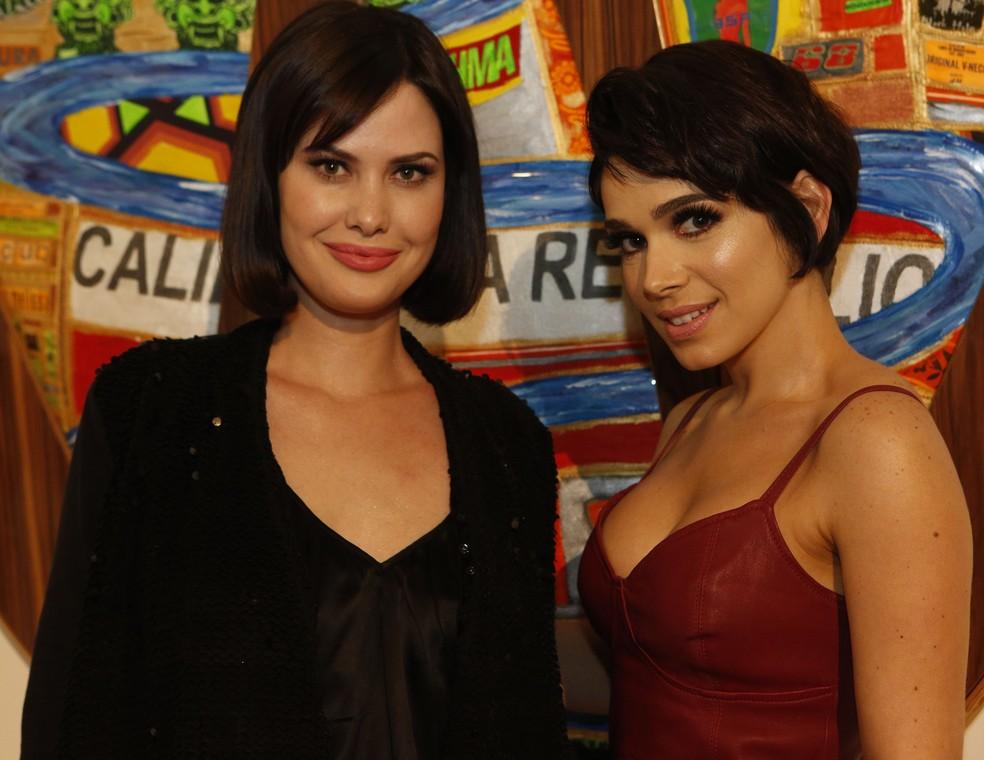Mayana Moura e Sabrina Petraglia marcam presença na ação especial de 'Tempo de Amar' (Foto: Fábio Rocha / Gshow)