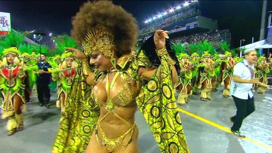 Campeã do carnaval de SP, Mancha Verde agradece ao 'pé-quente' Felipão: 'É sempre bom estar ao lado de vencedores'
