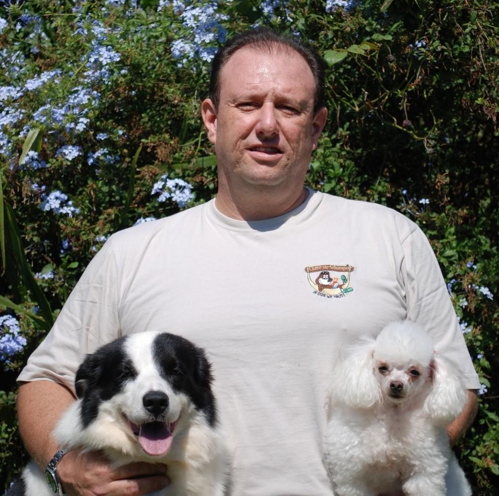 Veterinário Aldo Macellaro Júnior, de Itu, explica os sinais de que o cão está entediado — Foto: Clube de Cãompo/Divulgação