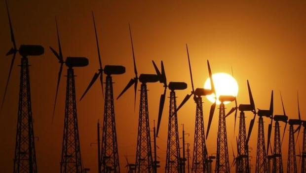 O uso da energia eólica está avançando - inclusive nos países em desenvolvimento (Foto: Reuters via BBC News Brasil)