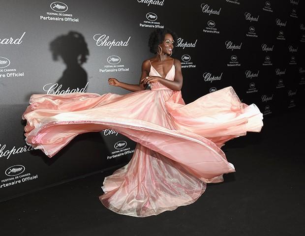 Lupita Nyong'o em Cannes (Foto: Pascal Le Segretain / Getty Images)