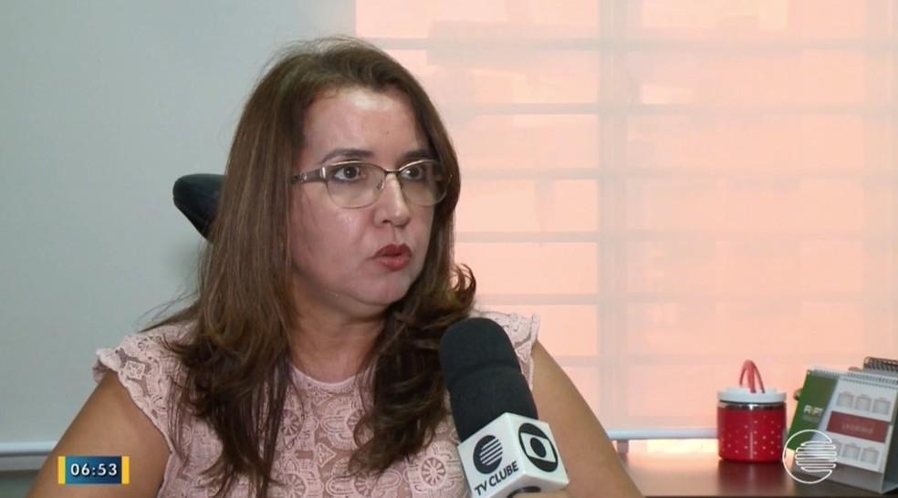 Procuradora explicou como o MPT atua na negociação para o pagamento dos salários atrasados (Foto: Reprodução/TV Clube)