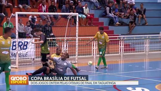 Cruzeiro e SIA goleiam e avançam para quartas da Copa Brasília